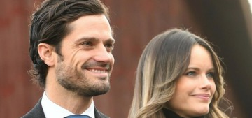 Sweden's Prince Carl-Philip & Princess Sofia tested positive for covid