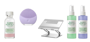 Cyber Monday deals including a laptop stand, a portable speaker and LED strip lights