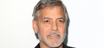 George Clooney claims he's been cutting his hair with a Flowbee for years
