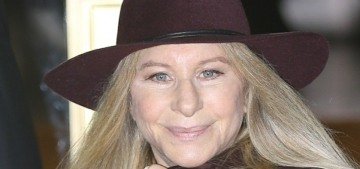 Barbra Streisand gets up at 6:30 every morning to check the stock market opening