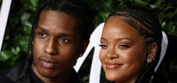 Rihanna & A$AP Rocky are really dating now, after 'hooking up' in January