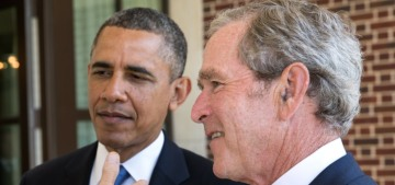 Bill Clinton, Barack Obama & George W. Bush announce they will take the vaccine