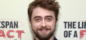 Daniel Radcliffe isn't on Twitter because he would just fight with random people