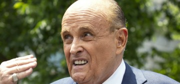 Rudy Giuliani spews lies and at least two angry farts while testifying in Michigan