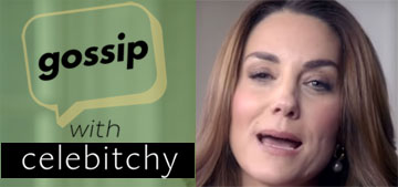 'Gossip With Celebitchy' podcast #75: Kate's pie chart has two things on it