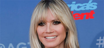 Heidi Klum says Leni, 16, is old enough to model if she wants to