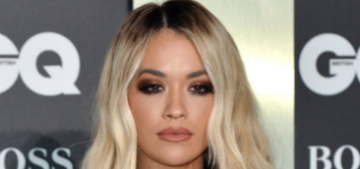 Rita Ora claimed her birthday party would only have three people there