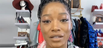 Keke Palmer's makeup tutorial on concealing acne is near expert level