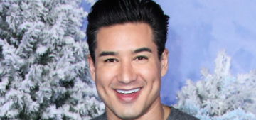 Would you watch Mario Lopez as hunky Colonel Sanders on Lifetime?