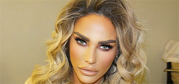 Katie Price says neighbors see her posts, tell cops she's violating pandemic rules