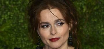 Helena Bonham Carter: Single ladies should buy a vibrator & a weighted blanket