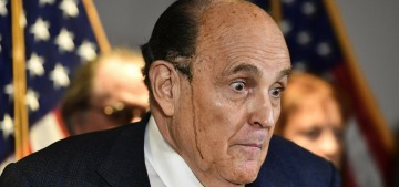 Rudy Giuliani left the hospital after receiving the same experimental drugs as Trump