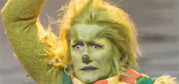 Matthew Morrison's Grinch was sexy, and people have thoughts