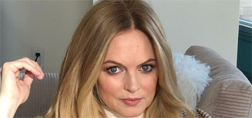 Heather Graham on lockdown: 'My goal is just don't gain weight basically'
