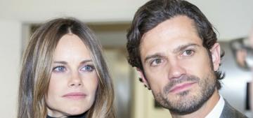 Prince Carl-Philip & Princess Sofia are expecting their third child