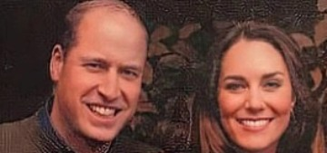 The Cambridges' wood-intensive 2020 Christmas card conveniently leaked online