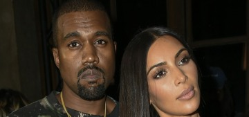 Kim Kardashian & Kanye 'very much live separate lives,' 'their lives don't overlap much'