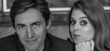 Princess Beatrice & Edo went out for a boozy 3-hour dinner with four other people