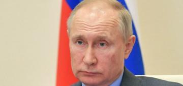Vladimir Putin acknowledged President-elect Joe Biden's win before Moscow Mitch
