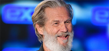 Jeff Bridges shares an update that he's shaved his head and got a new puppy