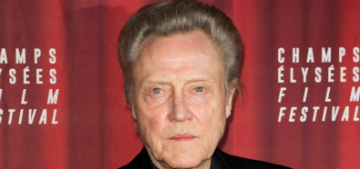 Christopher Walken doesn't have a cell phone or computer, says it's too late for him
