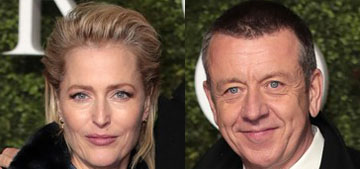 Gillian Anderson and 'The Crown' creator Peter Morgan have split after four years