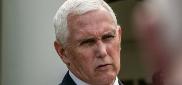 Mike Pence, 61, receives the covid vaccine live on camera with Mother Pence