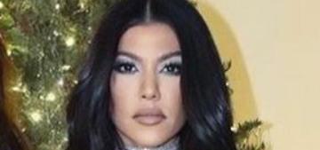 Was Kourtney Kardashian Photoshopped into the Kardashians' Xmas photo?