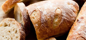 Easy three ingredient crusty bread that's as good as bakery bread