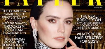 Daisy Ridley: Male coworkers & bosses have called me 'intimidating' & 'aggressive'