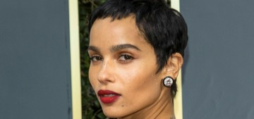 Zoe Kravitz filed for divorce from Karl Glusman just before Christmas