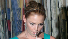 Katherine Heigl's castmates are very relieved that she's gone, even temporarily