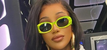Cardi B responds to criticism after she turned off 'WAP' when Kulture entered the room