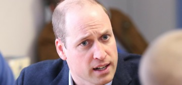 Airy-fairy do-gooder Prince William visited a homeless shelter before Xmas