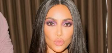 Kim Kardashian hasn't filed for divorce yet because she's still not sure?