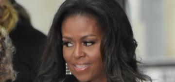 Michelle Obama: Donald Trump is 'an infantile & unpatriotic president'