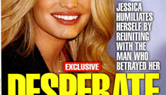 "In Touch: Jessica Simpson's ""insecure, desperate"" hookup with John Mayer"