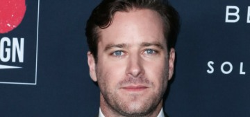 So, let's talk about those '100% cannibal' messages from Armie Hammer