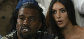 Kim Kardashian 'is over Kanye's chaos, she just wants to focus on the kids & her own life'