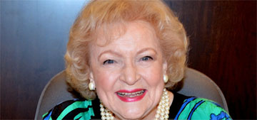 Betty White's 99th b-day advice: Have a sense of humor, look at the positive side