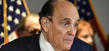 Donald Trump isn't going to pay Rudy Giuliani for the Angry Fart Tour