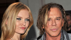 Mickey Rourke has a new 24 year-old girlfriend