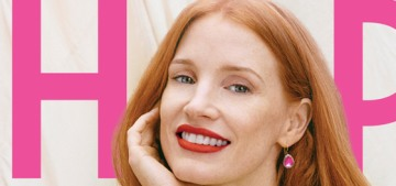Jessica Chastain has been a vegan for 14 years & she fasts one day a week