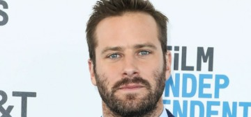 Armie Hammer's friends & family are concerned that he's abusing drugs