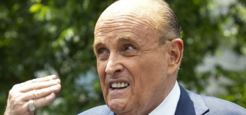 Rudy Giuliani can't represent Trump in the Senate trial because he's a 'witness'