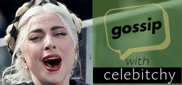 'Gossip With Celebitchy' podcast #80: Lady Gaga's Hunger Games look: too much or fine?