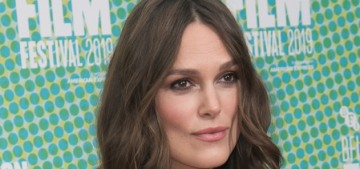 Keira Knightley won't take her clothes off on film for a male director anymore
