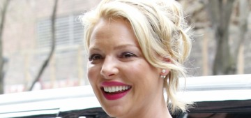 Katherine Heigl on her 'difficult' label: 'I may have said a couple of things you didn't like'