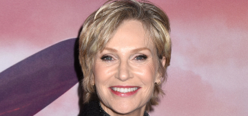 Jane Lynch gives her adopted senior dogs human names like Kevin, Millie & Bernice