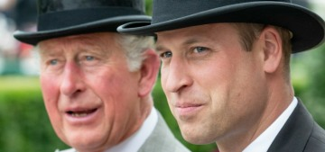 Prince Charles & William's relationship has gotten better post-Sussexit, big surprise